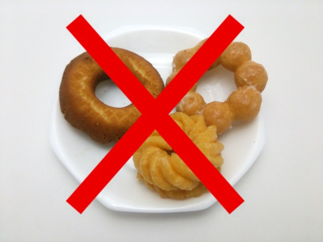 運動だけでなく食事管理も併用する