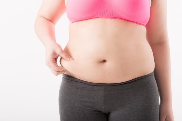 女性はもともとウエスト周りに皮下脂肪が付きやすい