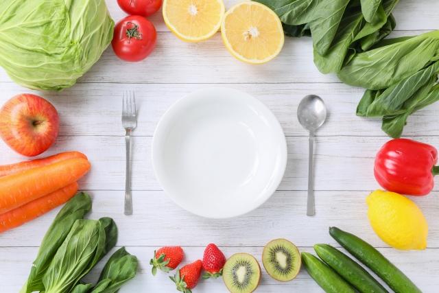 ダイエットの食事管理は1日20食品を目指す